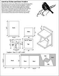 Over Free Bird House and Bird Feeder Woodcraft Plans at    Birdhouse Plans for Robins