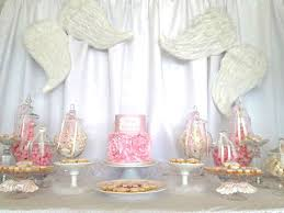 Angel  Heaven Baby Shower Party Ideas  Angel Baby Shower Angel Angel Baby Shower Decorations