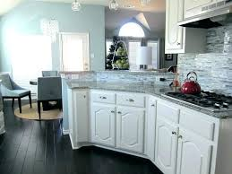 dark wood floors grey walls floor kitchen image of white cabinets with hardwood