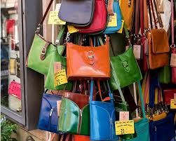 all your italian leather handbags in rome at this street visit roam the gnome