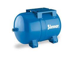 simer water supply diy water movement pentair simer ht7 7 gallon horizontal pre charged bladder tank