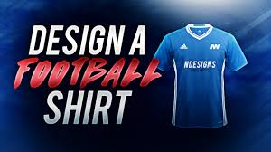 Free Jersey Designer Online How To Design A Football Shirt In Photoshop Free Template