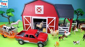 farm barn. Farm Barn Terra Playset With Fun Animals Toys For Kids S