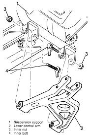 Repair guides rear suspension control arms links rh 1998 cadillac rear suspension parts 1998 cadillac rear suspension parts