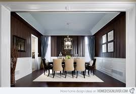 Small Picture Striped Wall Accents in 15 Dining Room Designs Home Design Lover