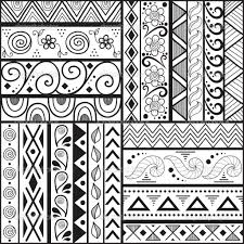 ... Designs To Draw On A Paper Easy Patterns To Draw On Paper | Q Pattern  ...