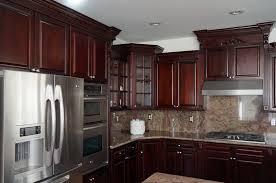 dark cherry ready to assemble rta kitchen cabinets dark cherry cabinet kitchen designs