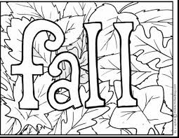 Small Picture marvelous oak leaves coloring pages printable with fall coloring