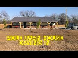 to build a pole barn house for