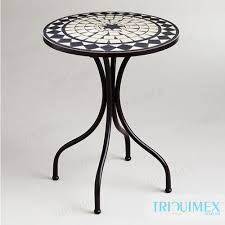 round mosaic table from outdoor furniture manufacturer in vietnam