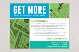 Tax Flyer Design Maximum Tax Refund Flyer Template Tax Refund Flyer