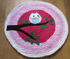 round rug for nursery