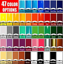 Oracal 651 Color Chart Vinyl Rolls Oracal 651 Choose Your Colors 47 Options Cricut Silhouette Cameo Crafting Vinyl 20 Rolls