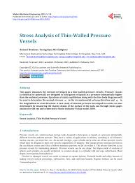 Pressure Vessel Design Manual 4th Edition Pdf Pdf Stress Analysis Of Thin Walled Pressure Vessels