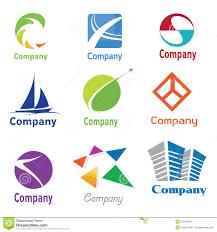 How To Design A Logo For Free Samples Logo Design Samples 01 Stock Vector Illustration Of Glossy