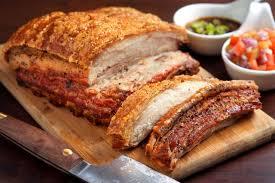 crispy slow roasted pork belly recipe