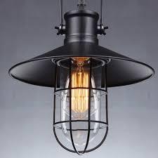 pendant lighting industrial style. single light metal shade pendant in nautical style lighting industrial n