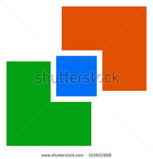 common concept stock photos royalty images vectors symbol overlapping squares conceptual icon for unity connection geometry or structural concepts
