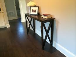 half table for hallway. Chic Hallway Accent Table Diy Pallet Furniture Plans Half For N