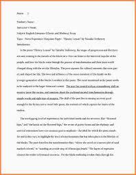 response to literature essay examples essay checklist