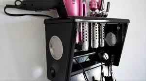 inspirations best hair appliance organizer for cool your lifestyle ideas whereishemsworthcom