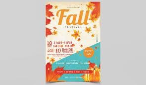 Fall Festival Flier Fall Festival Psd Free Flyer Template Studioflyers Com