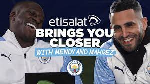 I HAVE THE BEST FIRST TOUCH! | ETISALAT BRINGING YOU CLOSER | MAHREZ AND  MENDY – AFRICUNIA TV