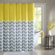 grey chevron shower curtains.  Grey Amazoncom Intelligent Design ID70219 Nadia Shower Curtain 72x72 On Grey Chevron Curtains O