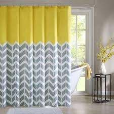 com intelligent design id70 219 nadia shower curtain 72x72 yellow 72x72 home kitchen