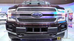 2018 ford f150 interior. wonderful f150 2018 ford f150 platinum  exterior and interior walkaround 2017 toronto  auto show youtube on ford f150 interior