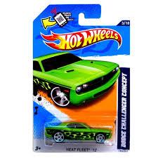 Amazon.com: Hot Wheels 2012, Dodge Challenger Concept, Heat Fleet ...