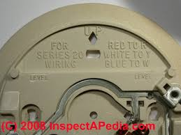 thermostat accuracy & calibration how to set room thermostat Old Honeywell Thermostat Wiring Diagram thermostat wire connections (c) daniel friedman wiring diagram for old honeywell thermostat