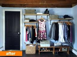 Nice How To Organize A Small Bedroom Without Closet Best No Closet Solutions  Ideas On Closet Ideas