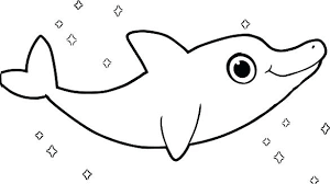 Cute Dolphin Coloring Pages Cute Dolphin Coloring Sheets Book My