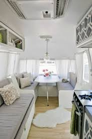 Airstream Interior Design Minimalist Custom Decoration