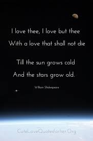 Love Quotes From Famous Poems