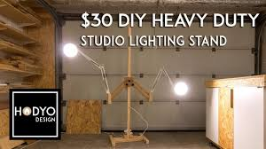 Photography Light Stand Diy 30 Diy Heavy Duty Wood Light Stand