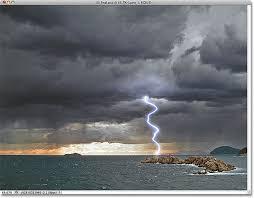 photo lightning effect