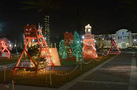 places to see lights around jacksonville