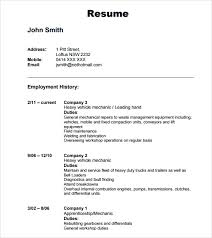 Resume Template Downloads Resume And Cover Letter Resume And