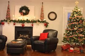 Xmas Living Room Decor Christmas Living Room Decor Fireplace Wall Designs Round Persian