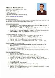 Example Hospitality Resume Best Resume Format Hotel Industry Elegant Resume Sample For Hotel