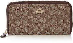 at Very Exclusive · Coach Signature Zip Around Wallet