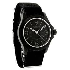 victorinox swiss army mens original black dial swiss quartz watch victorinox swiss army mens original black dial swiss quartz watch 241517