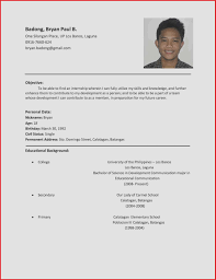 students resume sample student resume sample best of sample resume format for students
