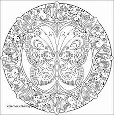 Complex Coloring Pages For Girls Download Downloadable Adult