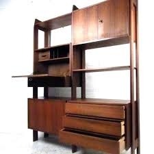 furniture of america tv stand mid century modern wall shelf ultimo walnut contemporary floating shelves moder