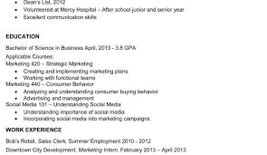 Resume Setup Example Resume Template