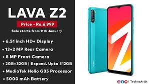 Techno Arijit. - LAVA Z2 Made in India ...