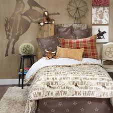 boys western cowboy bedding set full